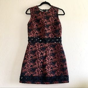 TOPSHOP Floral Sleeveless Dress size 6